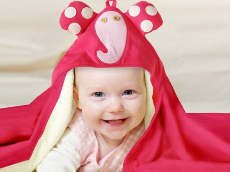 Image result for cute baby in  towels