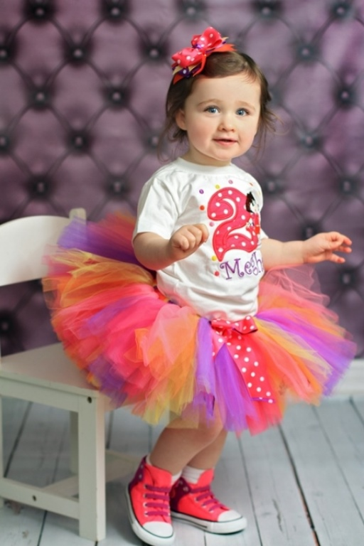 Hot Pink Bright Polka Dot Dora Birthday Tutu Outfit. 2. Your baby girl ... 344572be98