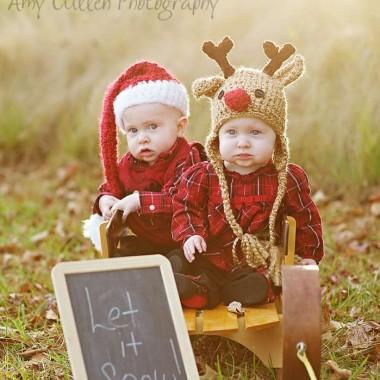 Christmas Baby Hats